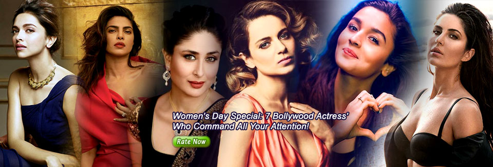 Women's Day Special: 7 Bollywood Actress' Who Command All Your Attention!