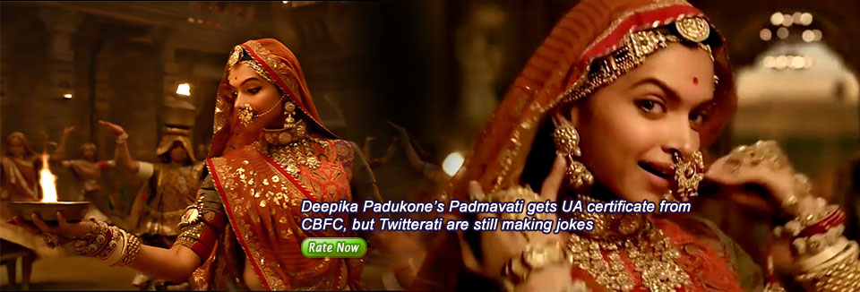 Deepika Padukone's Padmavati gets UA certificate from CBFC, but Twitterati are still making jokes