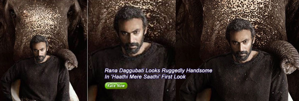 Rana Daggubati Looks Ruggedly Handsome In 'Haathi Mere Saathi' First Look