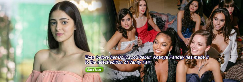 Even before her Bollywood debut, Ananya Panday has made it to the latest edition of Vanity Fair