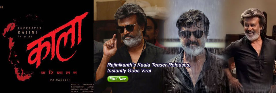 Rajinikanth's Kaala Teaser Releases, Instantly Goes Viral
