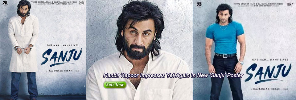 Ranbir Kapoor Impresses Yet Again In New 'Sanju' Poster