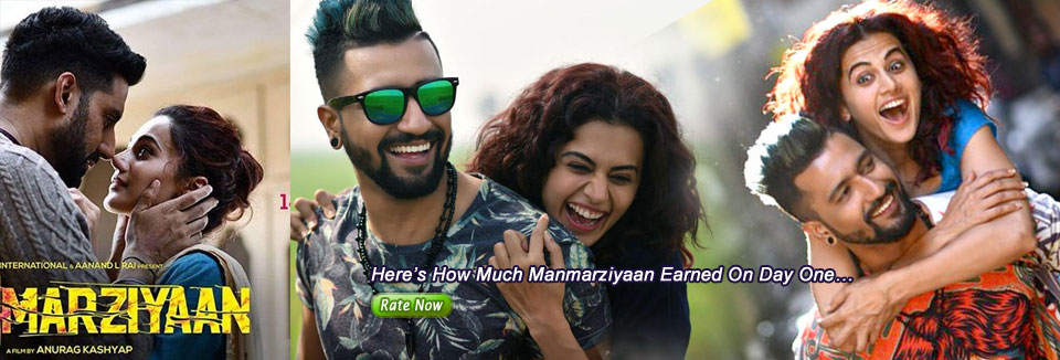 Here's How Much Manmarziyaan Earned On Day One…