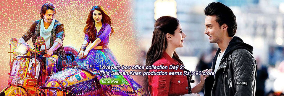 Loveyatri box office collection Day 2: This Salman Khan production earns Rs 5.90 crore