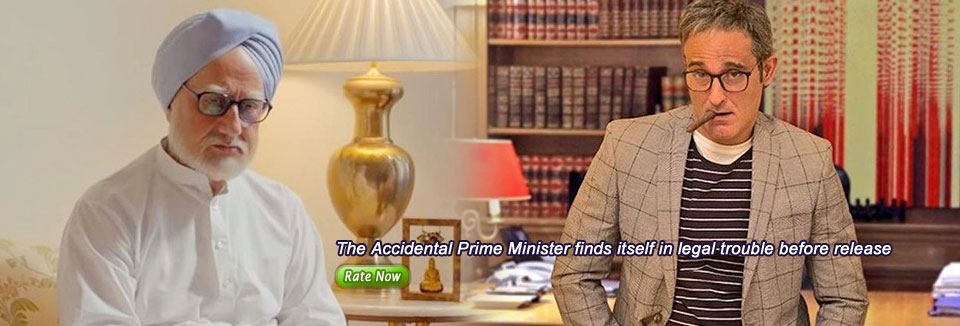 The Accidental Prime Minister finds itself in legal trouble before release