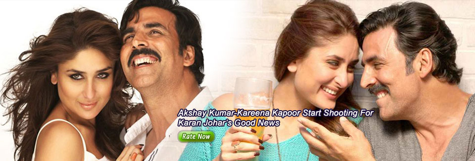 Akshay Kumar Kareena kapoor start shooting for Karan Johars good news