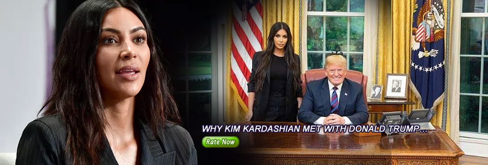 Why Kim Kardashian met with Donald Trump…