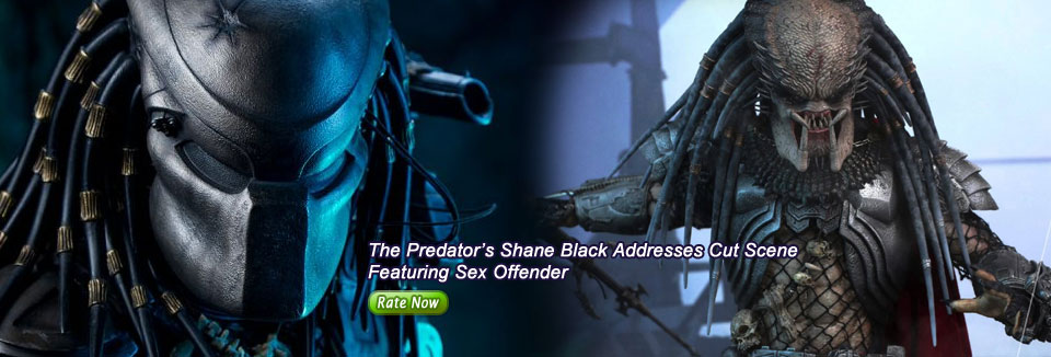 The Predator's Shane Black Addresses Cut Scene Featuring Sex Offender