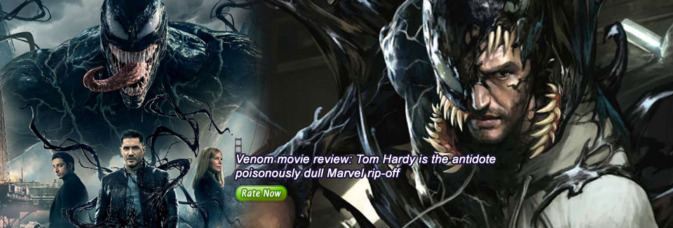 Venom movie review: Tom Hardy is the antidote poisonously dull Marvel rip-off