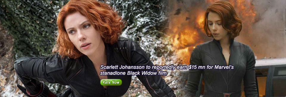 Scarlett Johansson to reportedly earn $15 mn for Marvel's stanadlone Black Widow film FP StaffOct,12 2018 18:18:38 IST