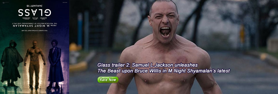 Glass trailer 2: Samuel L Jackson unleashes The Beast upon Bruce Willis in M Night Shyamalan's latest