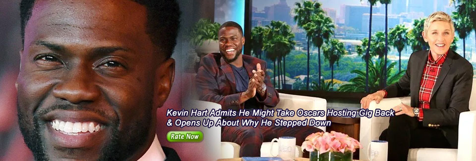Kevin Hart Admits He Might Take Oscars Hosting Gig Back  & Opens Up About Why He Stepped Down