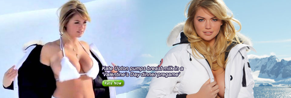 Kate Upton pumps breast milk in a 'Valentine's Day dinner pregame'
