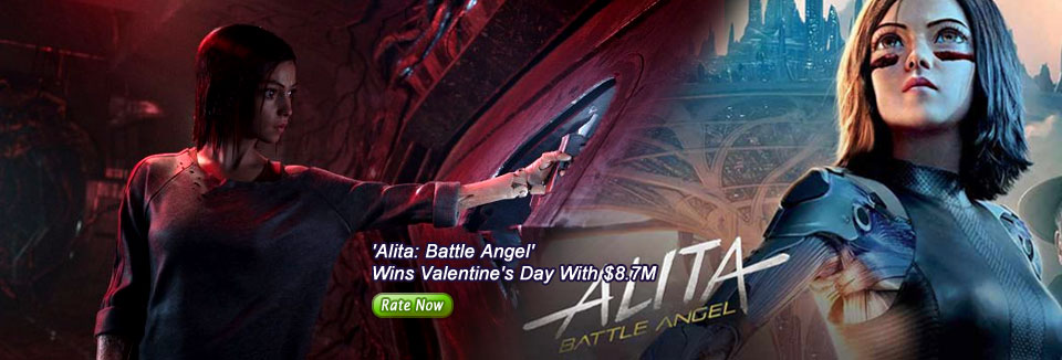 'Alita: Battle Angel' Wins Valentine's Day With $8.7M