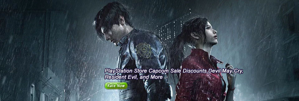 PlayStation Store Capcom Sale Discounts Devil May Cry, Resident Evil, and More